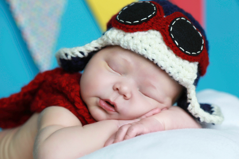 """airplane, newborn, baby, photographer, """"aviator hat"""""""