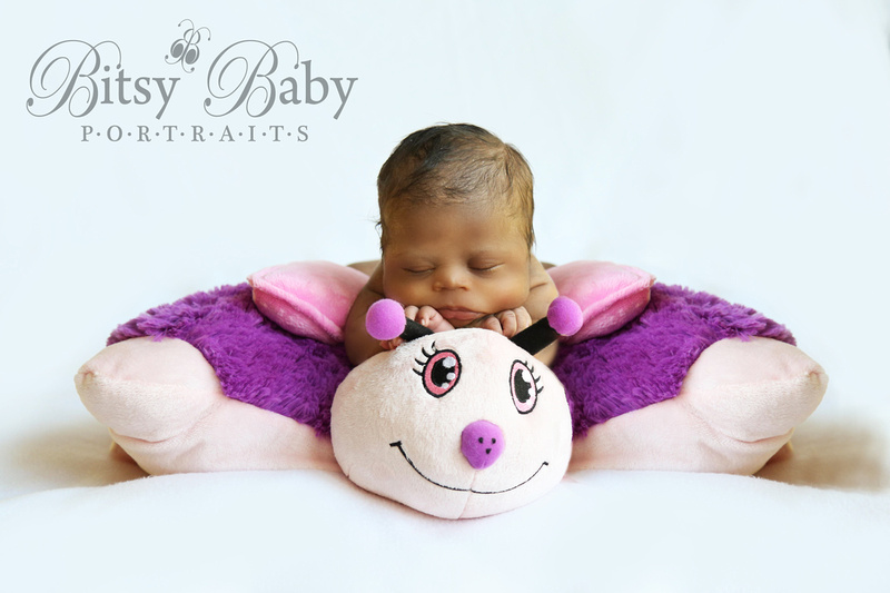 Baby on Pillow Pet
