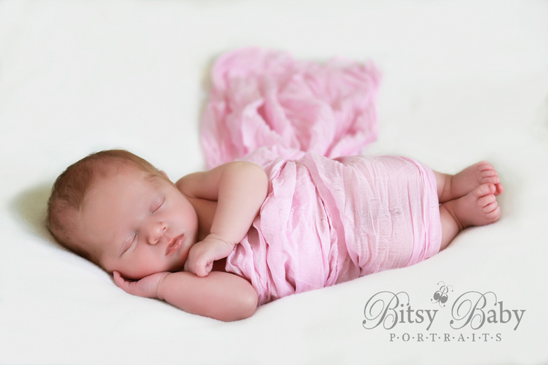 newborn photographer, athens, ga,, pink wrap, Baby photography