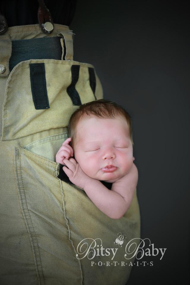 "Baby newborn ""fire fighter"" fireman photographer photography"