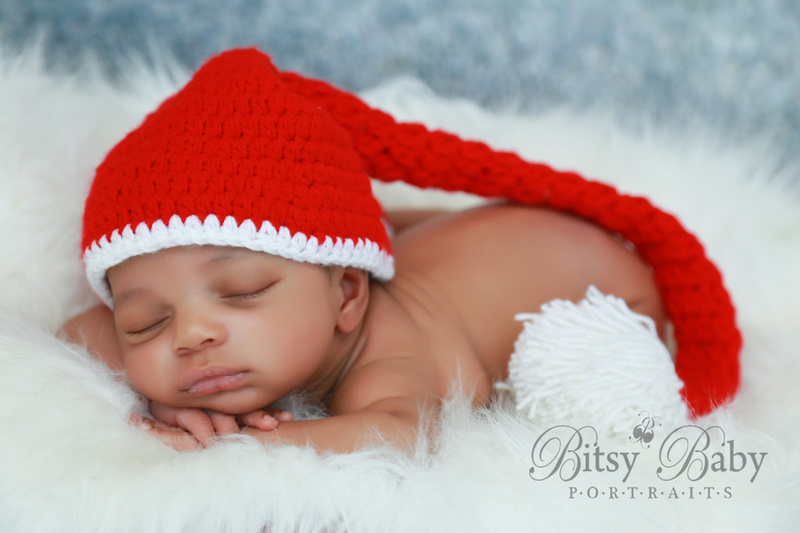 "newborn,  baby,  photography,  photographer,  ""Santa baby"" Christmas"