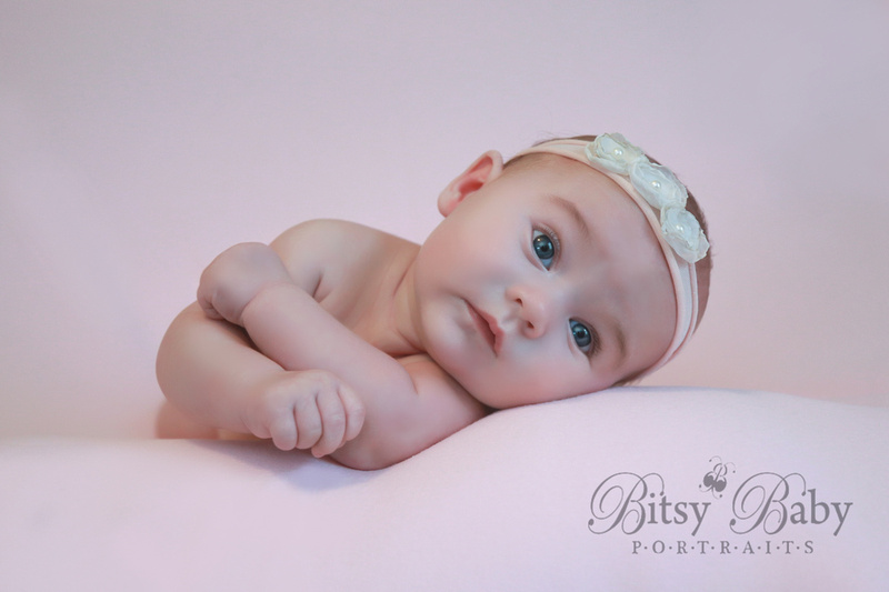 Pin-up girl baby, baby photography, baby photographer, vintage baby picture, Athens GA
