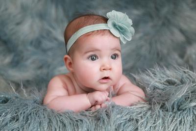 4-month old, flokati, Bitsy Baby Portraits, Baby photographer, Athens GA