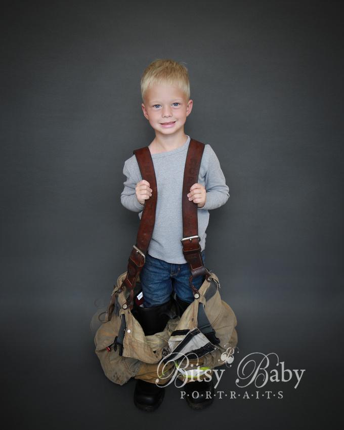 """boy fireman's gear """"fire fighter"""" photographer photography"""