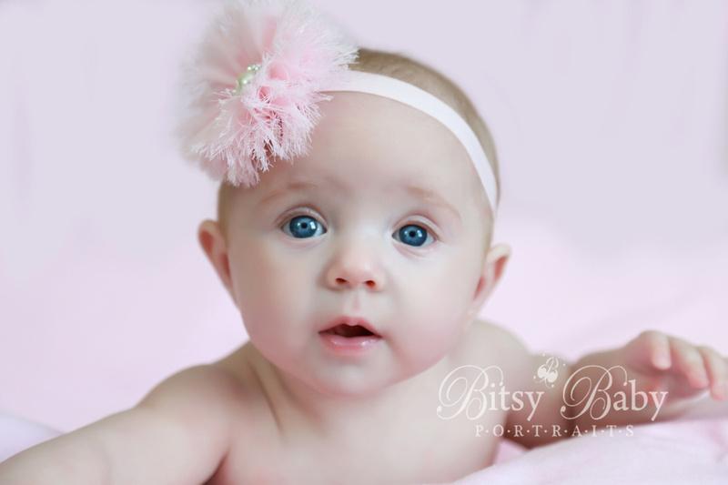 Newborn Baby Photographer,  Athens GA, Pink Headband