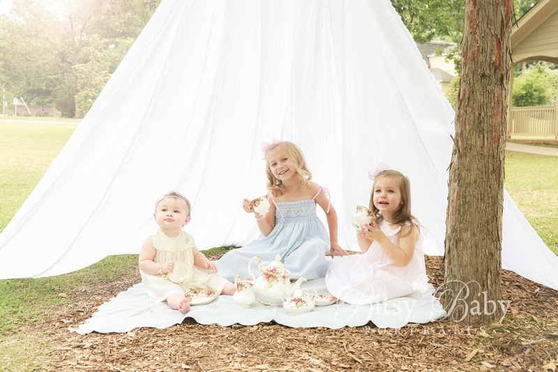 Child photography, tea party, canopy, tent