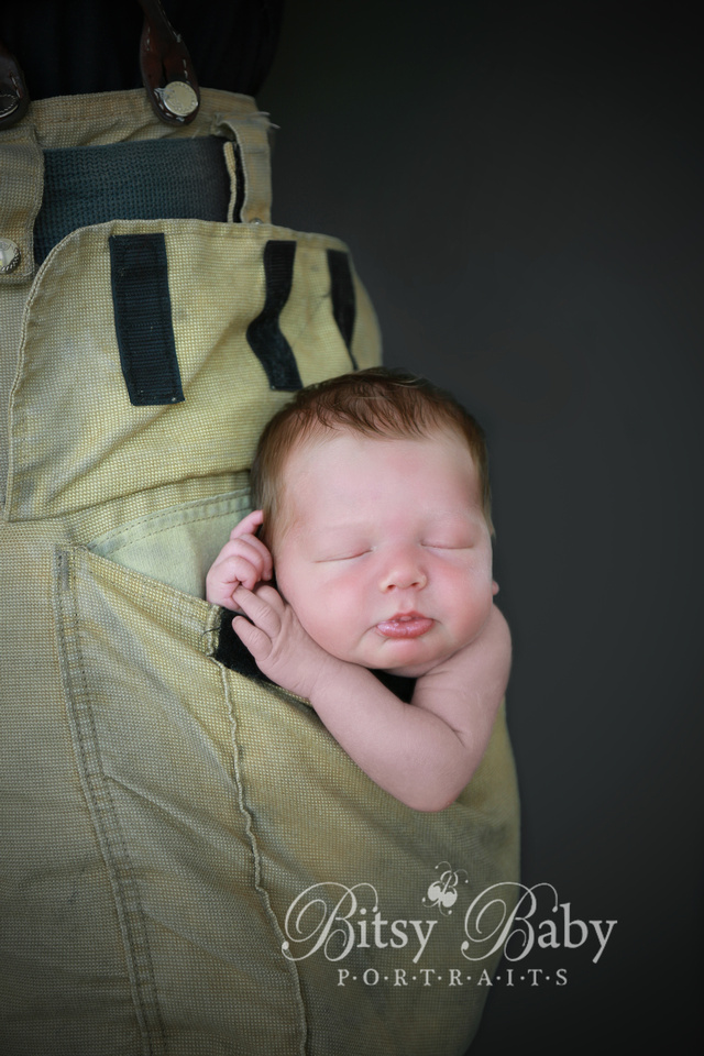 "Baby newborn ""fire fighter"" fireman photographer photography"