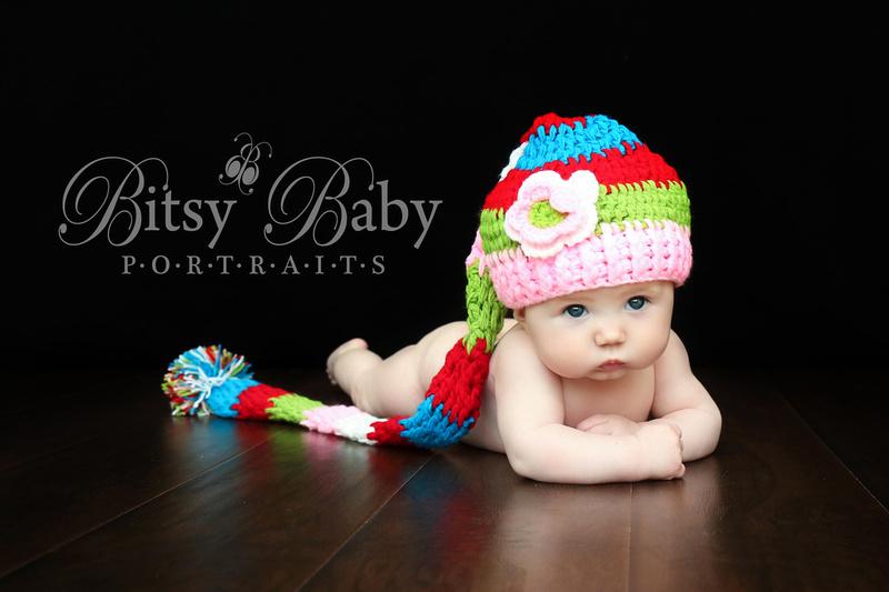 Baby grabbing toes